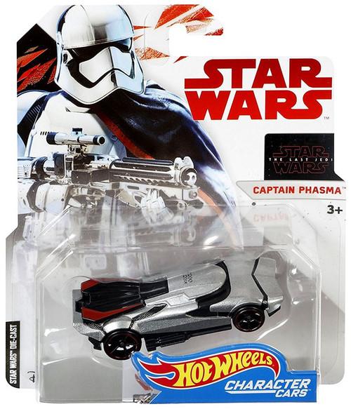 Hot Wheels Star Wars: The Last Jedi Character Cars Captain Phasma Diecast Car
