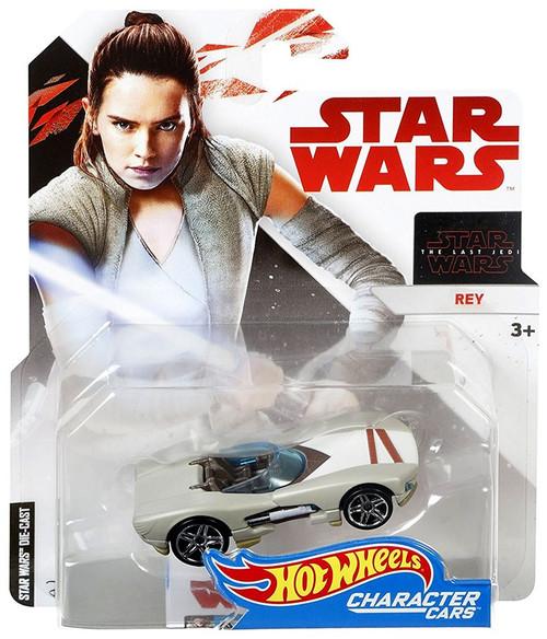 Hot Wheels Star Wars: The Last Jedi Character Cars Rey Diecast Car [Jedi Training]