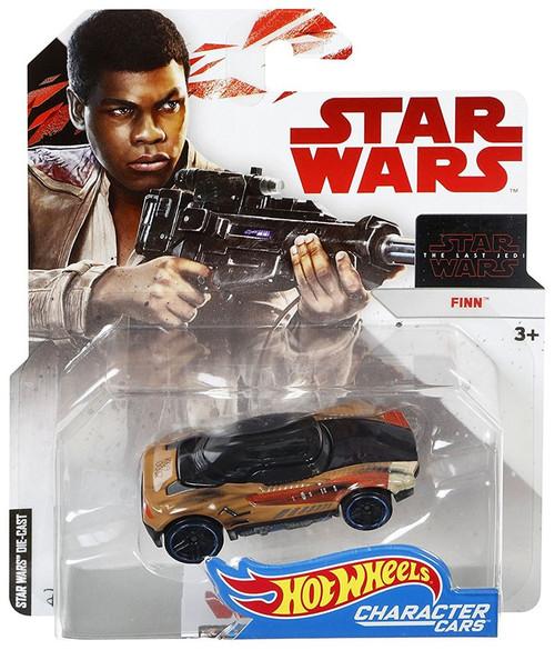 Hot Wheels Star Wars: The Last Jedi Character Cars Finn Diecast Car