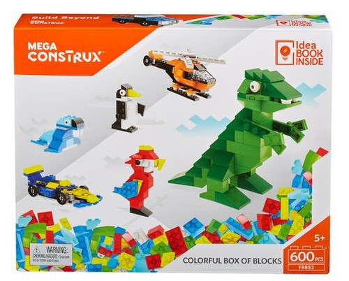 Inventions Colorful Box of Blocks Set