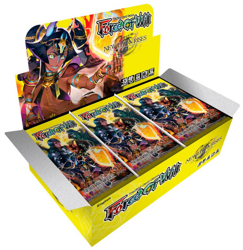 Force of Will Valhalla Cluster New Dawn Rises Booster Box [36 Packs]