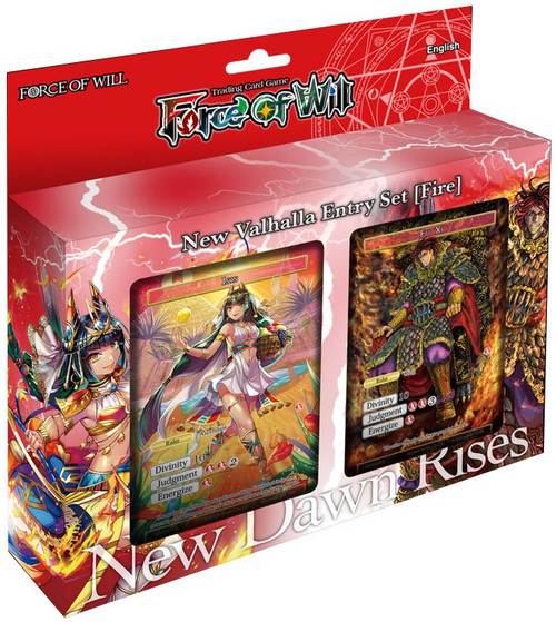 Force of Will Valhalla Cluster Fire Attribute Starter Deck