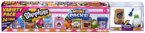 Shopkins Small Mart Season 10 Mini Packs! Mega 24-Pack