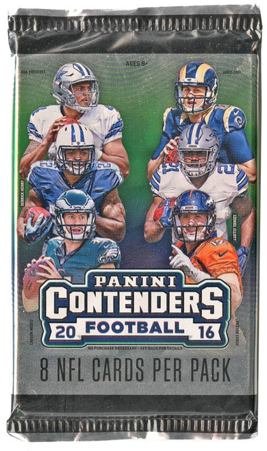 NFL Panini 2016 Contenders Football Trading Card Pack