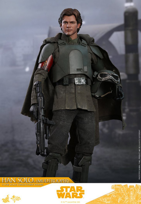 Solo A Star Wars Story Movie Masterpiece Mudtrooper Han Solo Collectible Figure MMS491