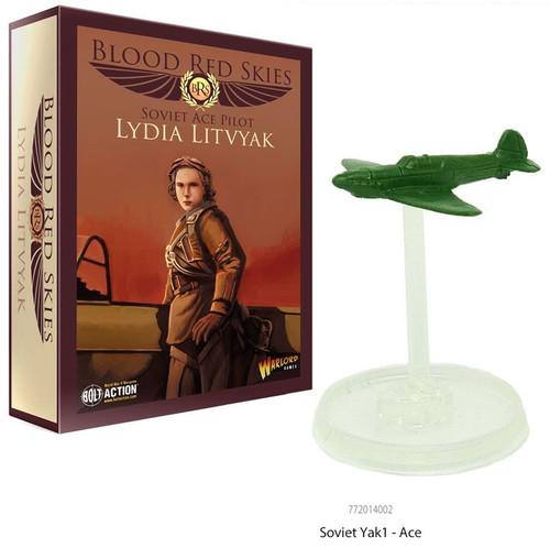 Blood Red Skies Soviet Ace Pilot Lydia Litvyak Miniature