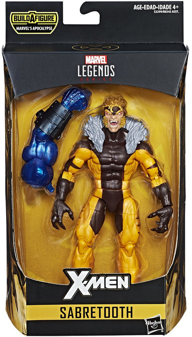 X-Men Marvel Legends Apocalypse Series Sabretooth Action Figure