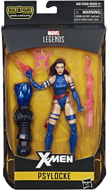 X-Men Marvel Legends Apocalypse Series Psylocke Action Figure