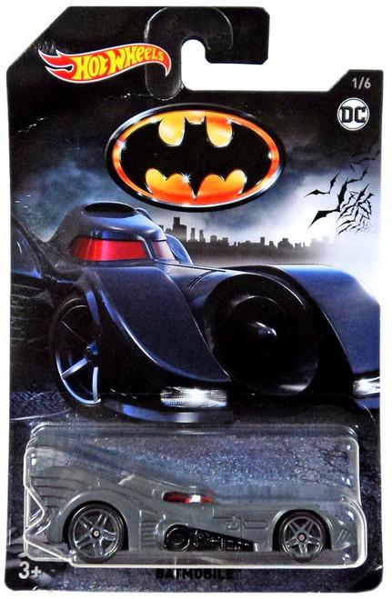 Hot Wheels Batman Batmobile Die-Cast Car #1/6 [1/6]