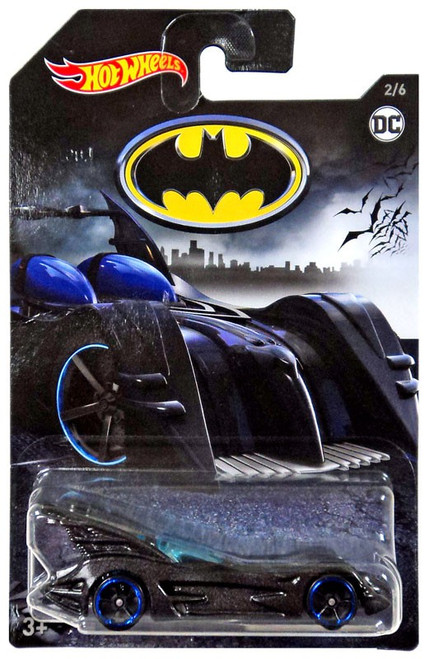 Hot Wheels Batman Batmobile Die-Cast Car #2/6 [2/6]
