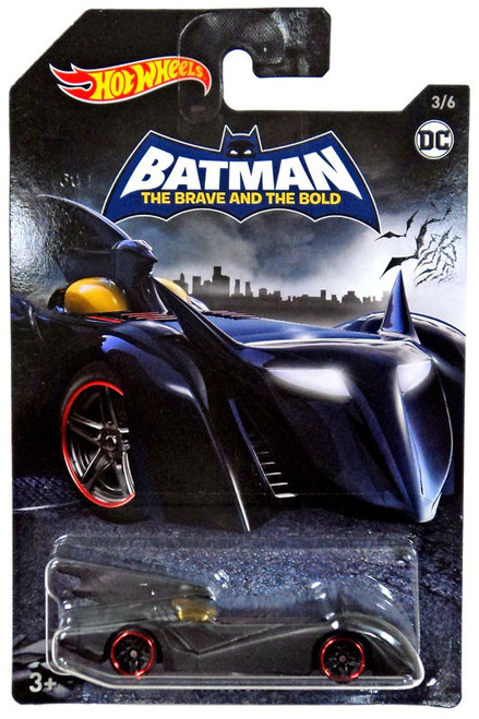 Hot Wheels Batman Batmobile Die-Cast Car #3/6 [The Brave and the Bold]