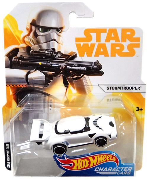 Hot Wheels Star Wars Character Cars Stormtrooper Diecast Car