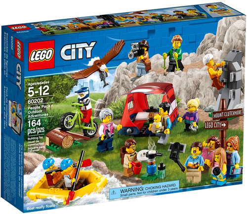 LEGO City People Pack Outdoor Adventures Set #60202