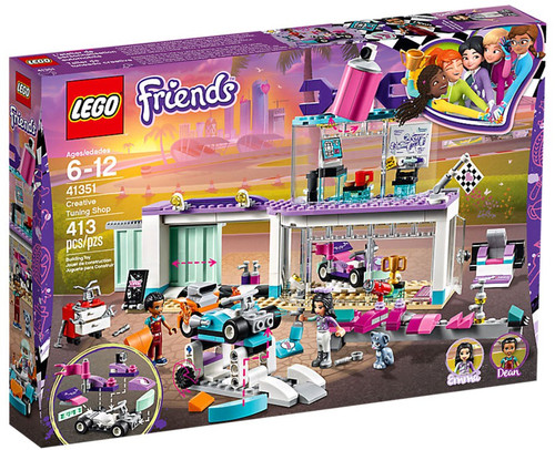 LEGO Friends Creative Tuning Shop Set #41351