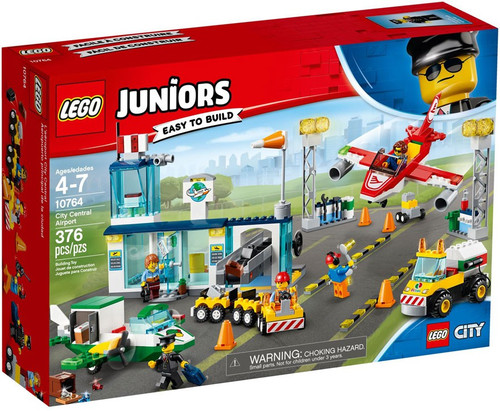 LEGO Juniors City Central Airport Set #10764
