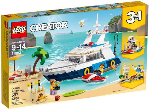 LEGO Creator Cruising Adventures Set #31083