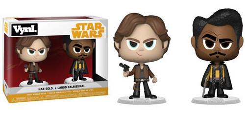 Funko Star Wars Vynl. Han Solo & Lando Calrissian Vinyl Figure 2-Pack