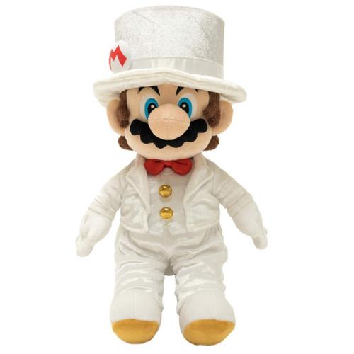 Super Mario Bros Mario Groom 16-Inch Plush