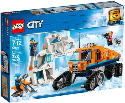 LEGO City Arctic Scout Truck Set #60194