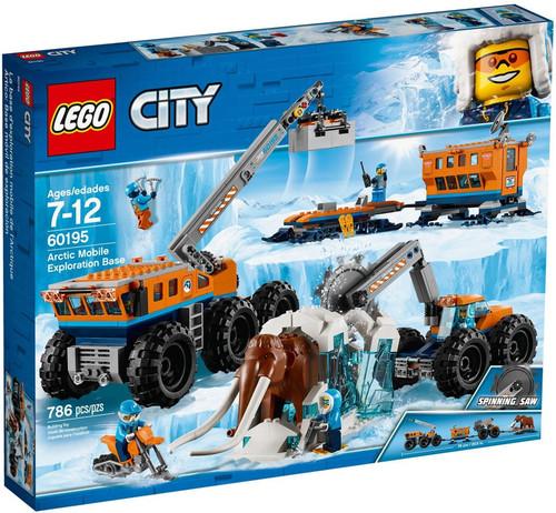 LEGO City Arctic Mobile Exploration Base Set #60195