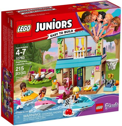 LEGO Juniors Friends Stephanie's Lakeside House Set #10763