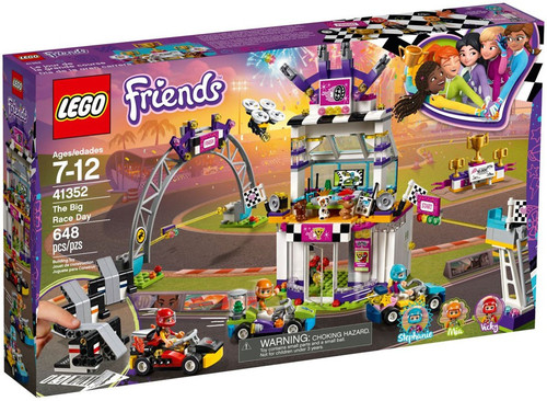 LEGO Friends The Big Race Day Set #41352