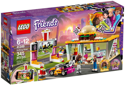 LEGO Friends Drifting Diner Exclusive Set #41349