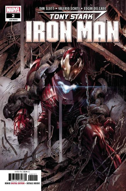 Marvel Tony Stark: Iron Man #2 Comic Book