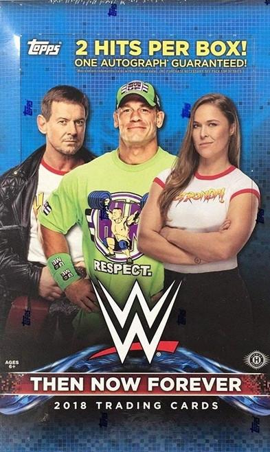 WWE Wrestling Topps 2018 Then Now Forever Trading Card HOBBY Box [24 Packs]