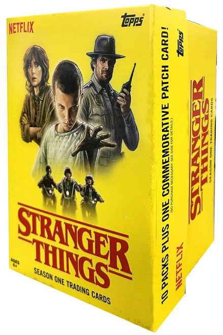 Stranger Things Season One Trading Card BLASTER Box [10 Packs]
