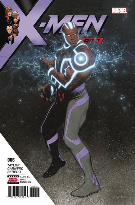 Marvel Comics X-Men Red #6 Comic Book