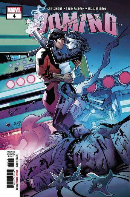 Marvel Domino #4 Comic Book