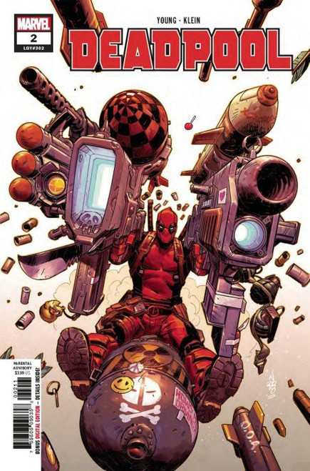 Marvel Comics Deadpool #2 Comic Book