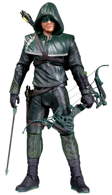 DC Arrow Action Figure [Hooded Version, Damaged Package]