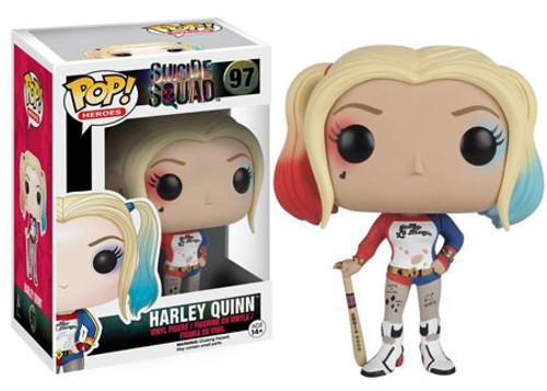Funko Suicide Squad POP! Movies Harley Quinn Vinyl Figure #97 [Damaged Package]