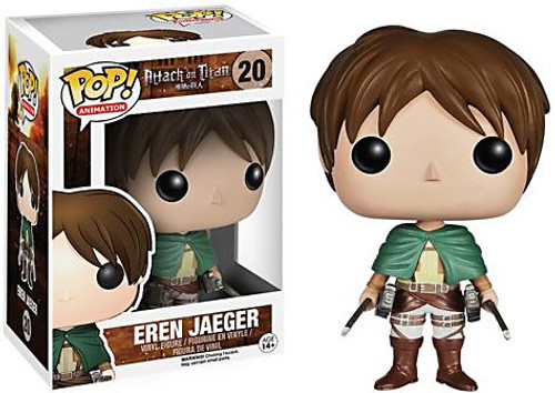 Funko Attack on Titan POP! Animation Eren Jaeger Vinyl Figure #20 [Damaged Package]