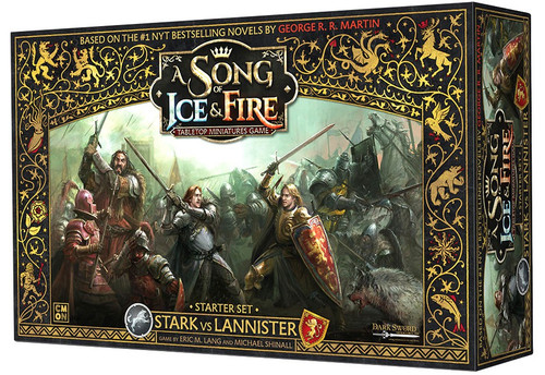 A Song of Ice & Fire Stark vs Lannister Tabletop Miniatures Game Starter Set
