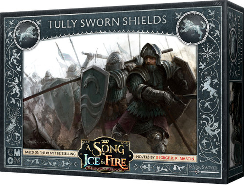 A Song of Ice & Fire Tully Sworn Shields Unit Box Tabletop Miniatures Game