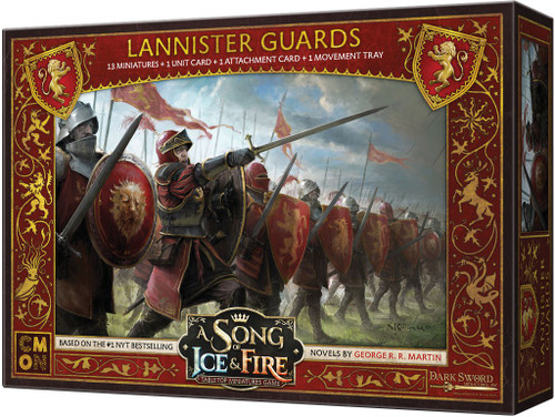 A Song of Ice & Fire Lannister Guardsmen Tabletop Miniatures Game