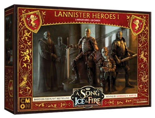 A Song of Ice & Fire Lannister Heroes #1 Tabletop Miniatures Game