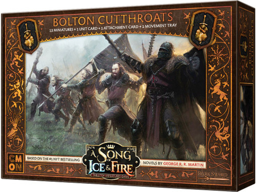 A Song of Ice & Fire Bolton Cutthroats Unit Box Tabletop Miniatures Game