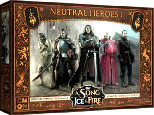 A Song of Ice & Fire Neutral Heroes #1 Tabletop Miniatures Game