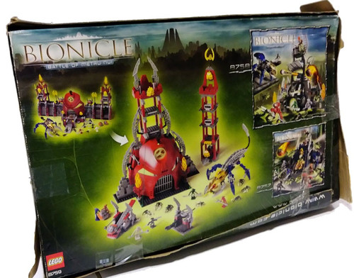 LEGO Bionicle Battle of Metru Nui Set #8759 [Damaged Package]