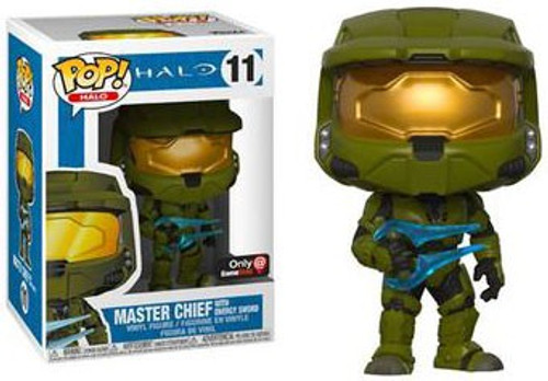 Funko POP! Halo Master Chief with Energy Sword Exclusive Vinyl Figure #11