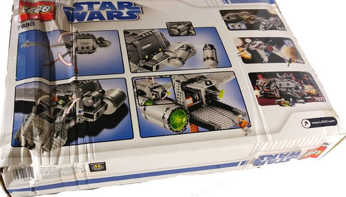 LEGO Star Wars The Clone Wars The Twilight Exclusive Set #7680 [Damaged Package]