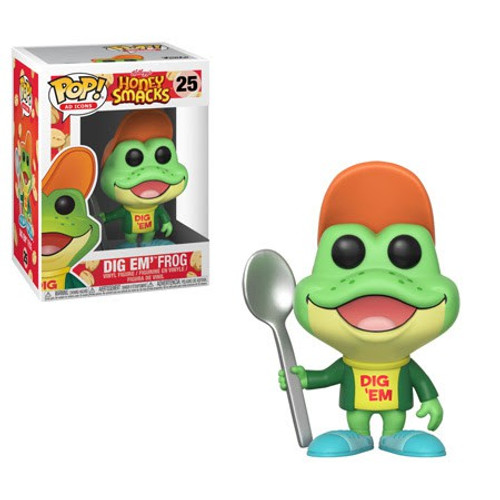 Funko General Mills POP! Ad Icons Dig Em' Frog Vinyl Figure #25 [Honey Smacks]