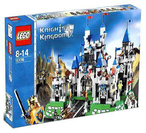 LEGO Knights Kingdom Royal Castle Set #10176 [Damaged Package]