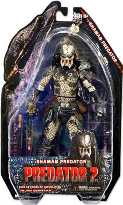 NECA Predator 2 Series 4 Shaman Predator Action Figure [Loose]
