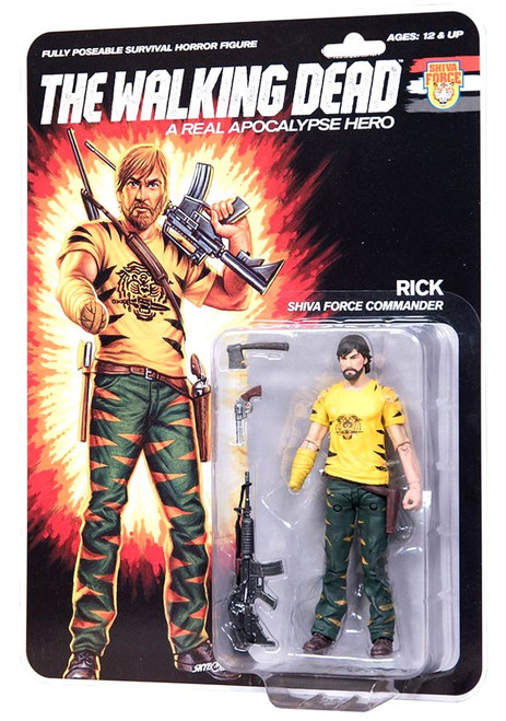 McFarlane Toys The Walking Dead Shiva Force Rick Action Figure [Full Color]
