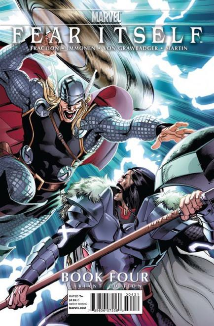 Marvel Comics Fear Itself #4 Comic Book [Stuart Immonen Variant ]